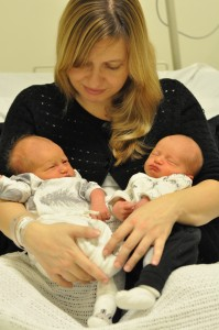 Anna och tvillingarna 5/11 2012